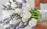 Белые свадебные букеты – монобукеты и цветочные композиции
