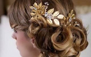 Как выбрать свадебный гребешок для волос – идеи