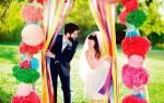 Стильная современная свадьба