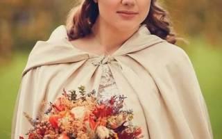 Идеи для осеннего свадебного букета