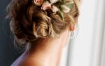 Стильные полусобранные и собранные прически на свадьбу – как выбрать лучшую для невесты
