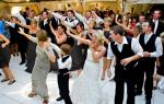 Зажигательные танцы на свадьбу от друзей и жениха