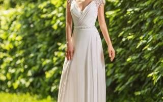 Красивое свадебное платье в греческом стиле: выбор Олимпийских богинь
