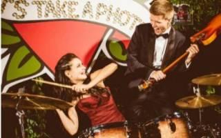 Музыкальные свадьбы в стиле рок и рок-н-ролл