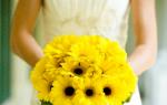 Как выбрать букет невесты из гербер – советы
