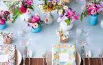 10 вариантов расстановки столов на свадебном банкете