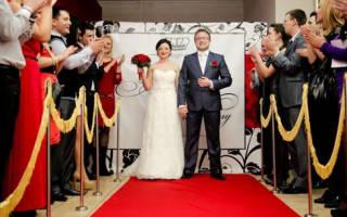 Как оформить свадьбу в стиле Голливуд, Оскар – советы