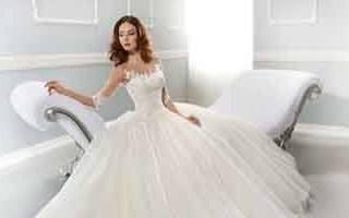 Как выбрать молочное свадебное платье – идеи