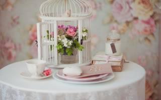 Оформление зала для свадьба шебби-шик – идеи декора