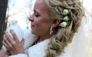 Греческая свадебная прическа для невесты