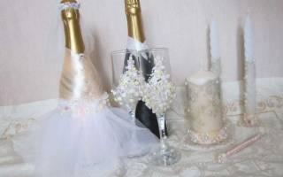 Оригинальные идеи оформления бутылок на свадьбу – украшаем шампанское своими руками