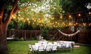 Как украсить двор на свадьбу своими руками – идеи