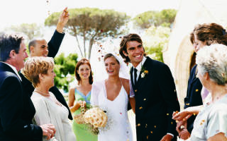 Как провести свадьбу в американском стиле