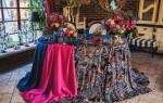 Красивая свадьба в восточном стиле