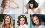Волосы до плеч: ТОП-5 причесок на свадьбу