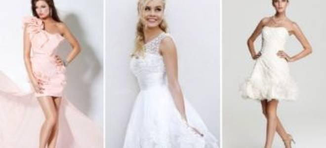 Как выбрать платье для росписи в ЗАГСе без торжества – обзор не свадебных моделей для невест