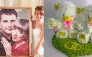Как сделать подарки на свадьбу своими руками – мастер-класс