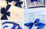 Идеи для синей свадьбы — как ярко оформить